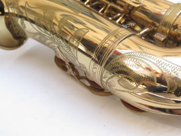 Saxophone alto Selmer Mark 6 verni gravé (14)