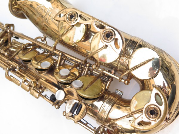 Saxophone alto Selmer Mark 6 verni gravé (17)
