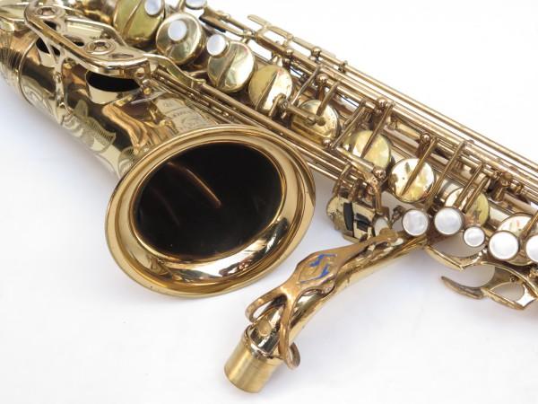 Saxophone alto Selmer Mark 6 verni gravé (18)