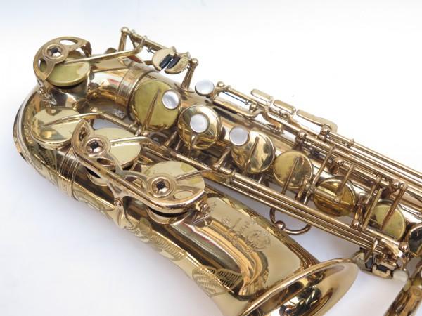Saxophone alto Selmer Mark 6 verni gravé (19)
