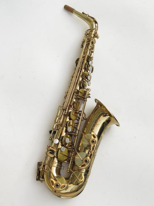 Saxophone alto Selmer Mark 6 verni gravé (20)