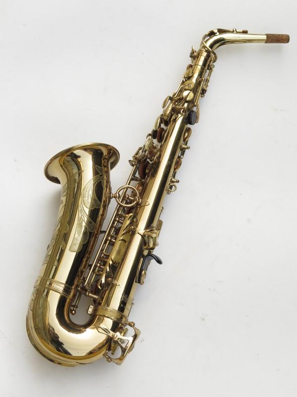Saxophone alto Selmer Mark 6 verni gravé (21)