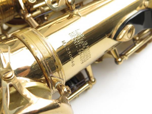 Saxophone alto Selmer Mark 6 verni gravé (22)