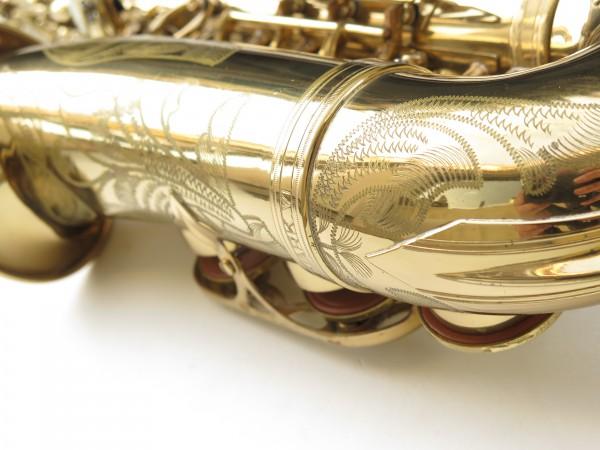 Saxophone alto Selmer Mark 6 verni gravé (23)