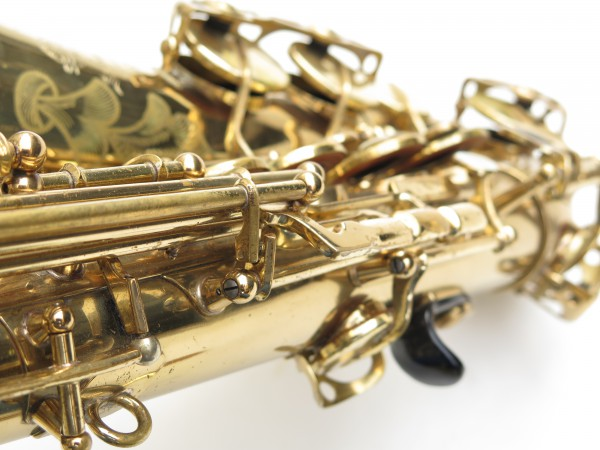 Saxophone alto Selmer Mark 6 verni gravé (8)