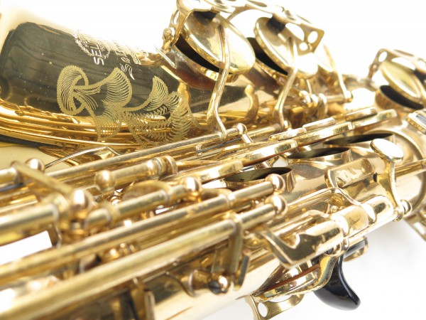 Saxophone alto Selmer Mark 6 verni gravé (9)