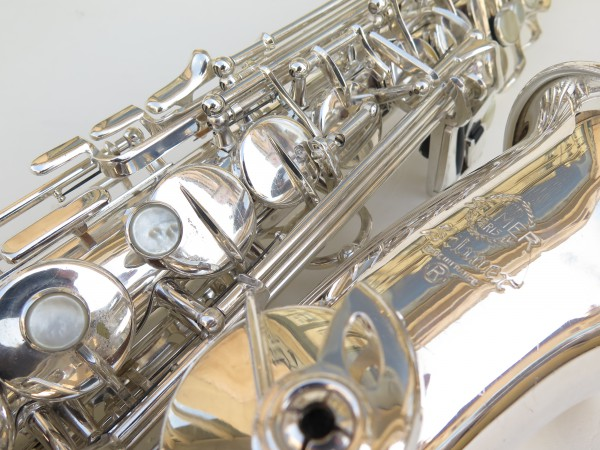 Saxophone alto Selmer Mark 7 argenté (1)