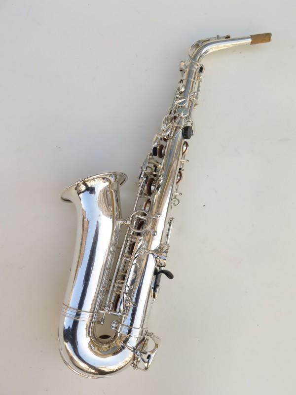 Saxophone alto Selmer Mark 7 argenté (14)
