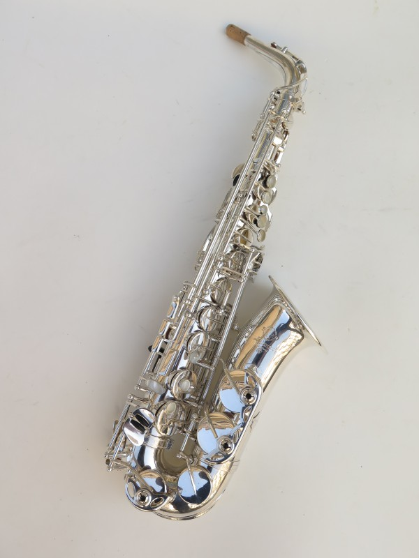Saxophone alto Selmer Mark 7 argenté (15)