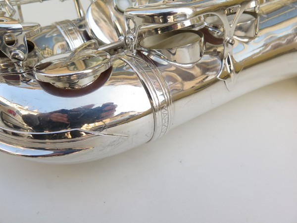 Saxophone alto Selmer Mark 7 argenté (16)