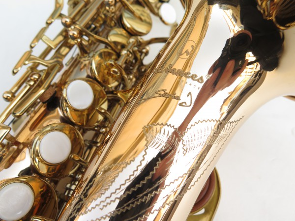 Saxophone soprano courbe Advences cuivre rose (1)