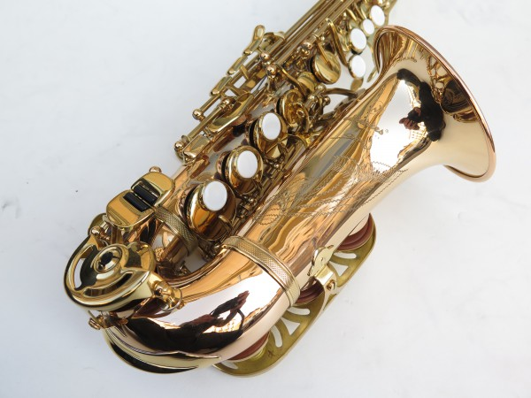 Saxophone soprano courbe Advences cuivre rose (3)