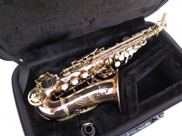 Saxophone soprano courbe Advences cuivre rose (4)