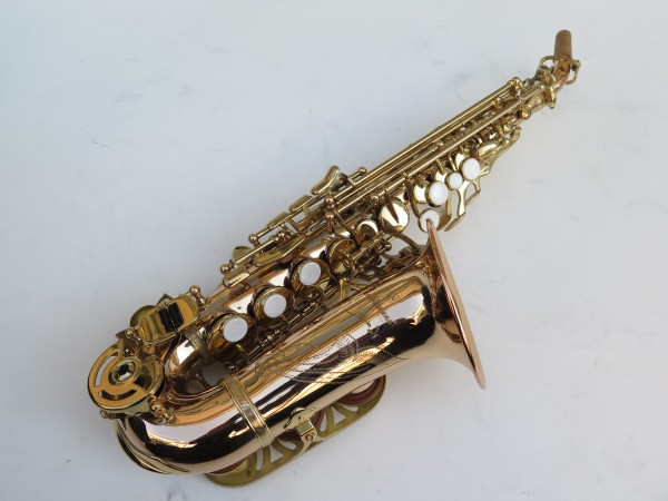 Saxophone soprano courbe Advences cuivre rose (5)