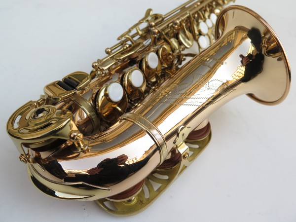 Saxophone soprano courbe Advences cuivre rose (6)