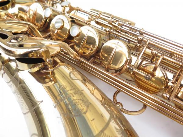 Saxophone ténor Selmer Mark 6 verni gravé (11)