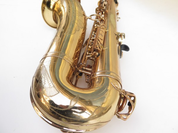 Saxophone ténor Selmer Mark 6 verni gravé (2)