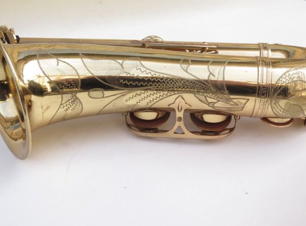 Saxophone ténor Selmer Mark 6 verni gravé (3)