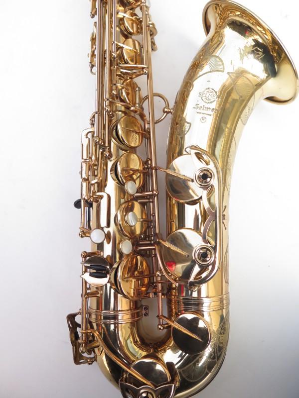 Saxophone ténor Selmer Mark 6 verni gravé (4)