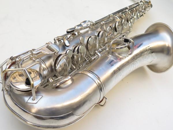 Saxophone C Melody Conn New Wonder 2 argenté sablé (1)