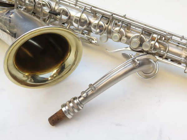 Saxophone C Melody Conn New Wonder 2 argenté sablé (11)