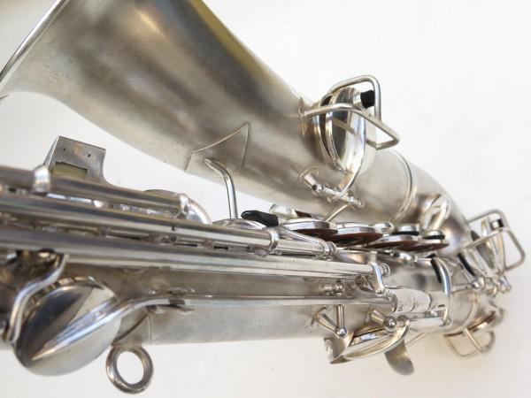 Saxophone C Melody Conn New Wonder 2 argenté sablé (14)