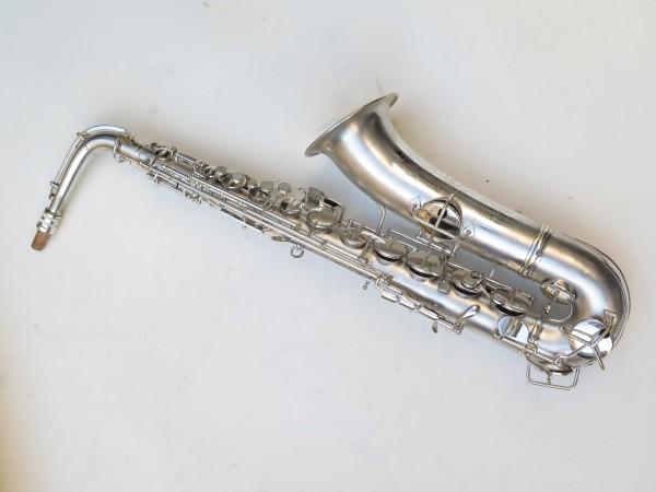 Saxophone C Melody Conn New Wonder 2 argenté sablé (15)