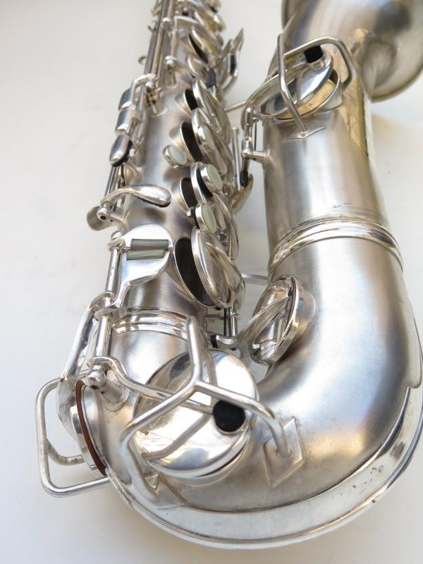 Saxophone C Melody Conn New Wonder 2 argenté sablé (16)
