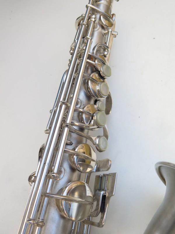Saxophone C Melody Conn New Wonder 2 argenté sablé (18)