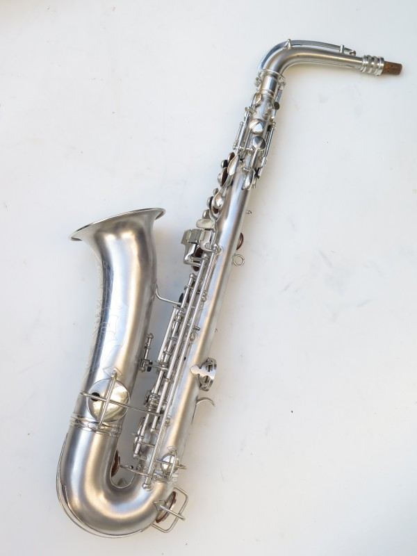 Saxophone C Melody Conn New Wonder 2 argenté sablé (21)