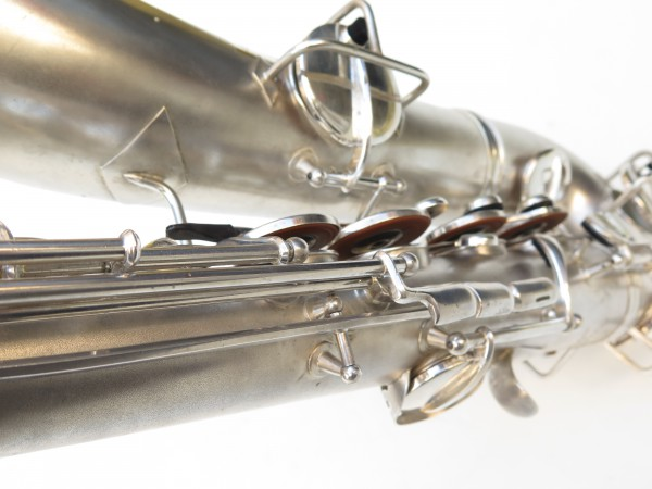 Saxophone C Melody Conn New Wonder 2 argenté sablé (6)