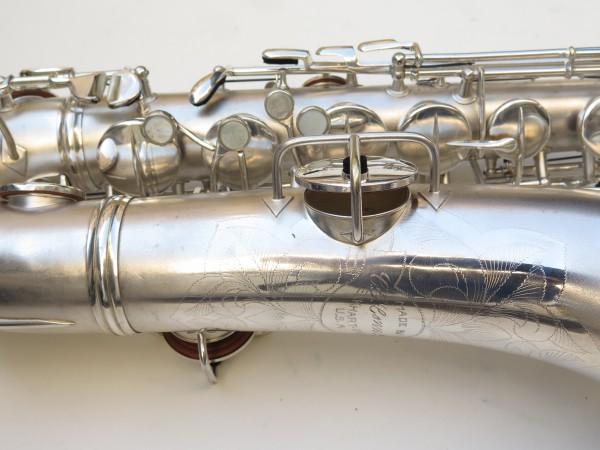 Saxophone C Melody Conn New Wonder 2 argenté sablé (9)