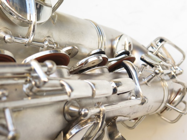 Saxophone C Melody Conn new wonder 2 argenté sablé (12)