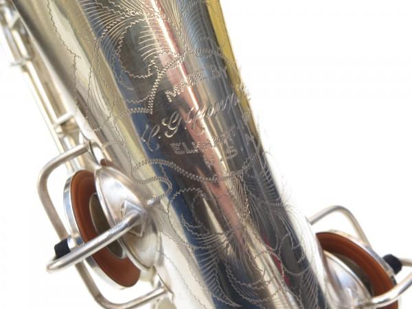 Saxophone C Melody Conn new wonder 2 argenté sablé (4)