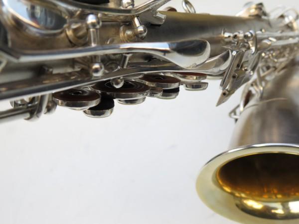 Saxophone C Melody Conn new wonder 2 argenté sablé (7)