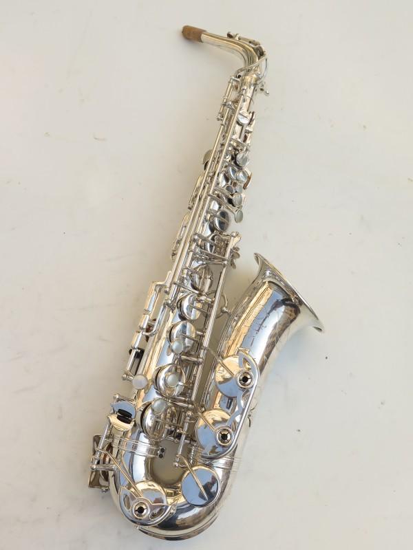 Saxophone alto Selmer Mark 6 argenté gravé (11)