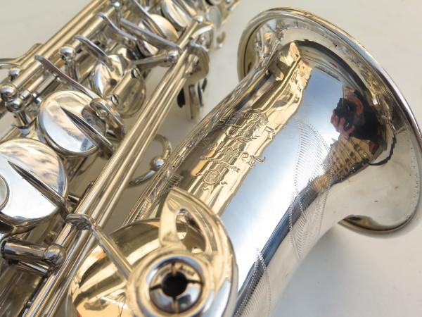 Saxophone alto Selmer Mark 6 argenté gravé (12)