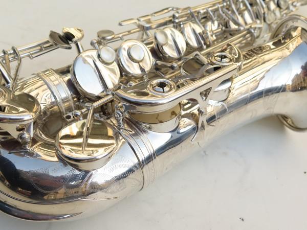 Saxophone alto Selmer Mark 6 argenté gravé (13)