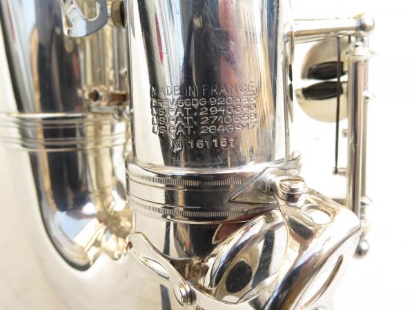 Saxophone alto Selmer Mark 6 argenté gravé (14)