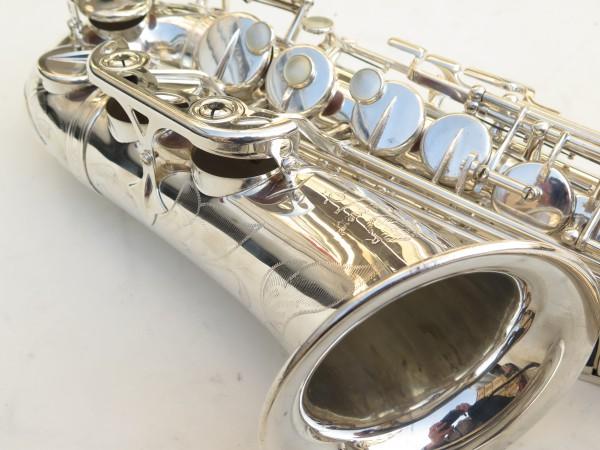 Saxophone alto Selmer Mark 6 argenté gravé (5)