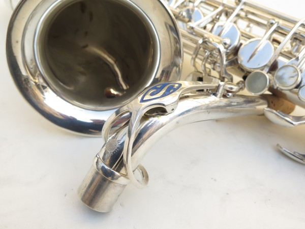 Saxophone alto Selmer Mark 6 argenté gravé (6)