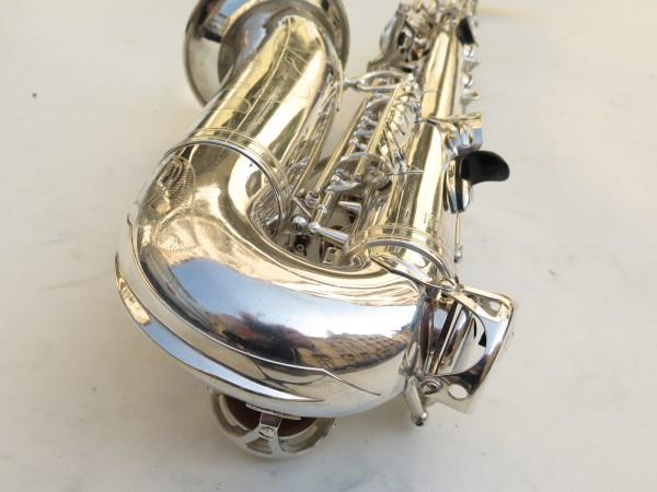 Saxophone alto Selmer Mark 6 argenté gravé (9)