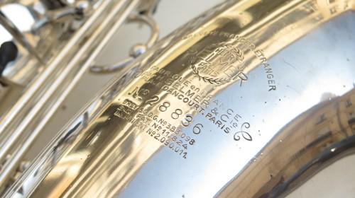 Saxophone ténor Selmer Balanced Action argenté (1)