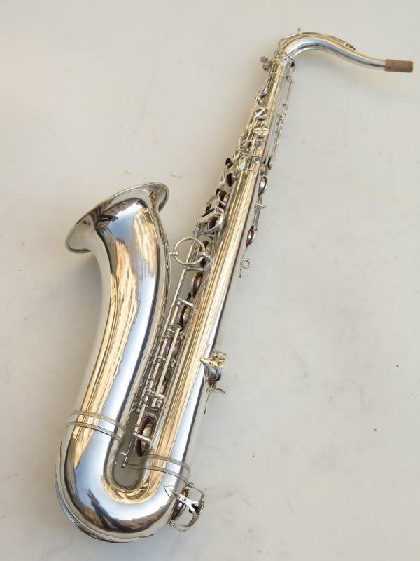 Saxophone ténor Selmer Balanced Action argenté (12)