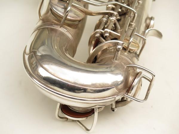 Saxophone alto Conn 6M 8 US Army argenté sablé ladyface (3)