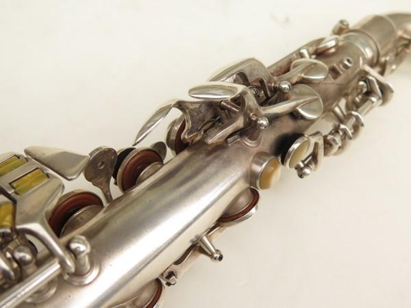 Saxophone alto Conn 6M 8 US Army argenté sablé ladyface (8)
