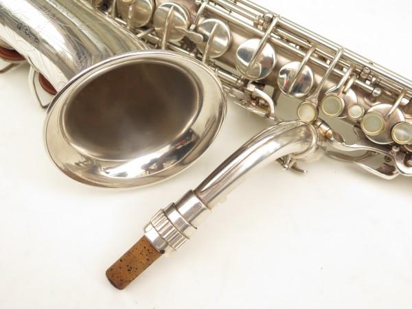 Saxophone alto Conn 6M 8 US Army argenté sablé ladyface (9)