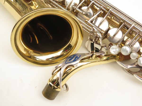 Saxophone alto Selmer Mark 6 verni clés argentées (1)