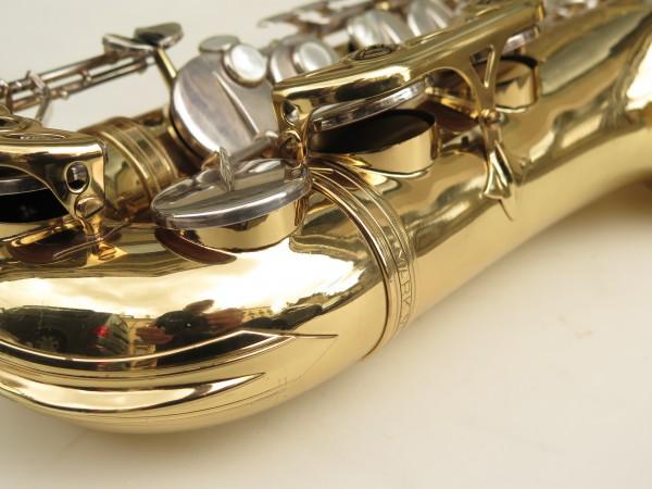 Saxophone alto Selmer Mark 6 verni clés argentées (10)