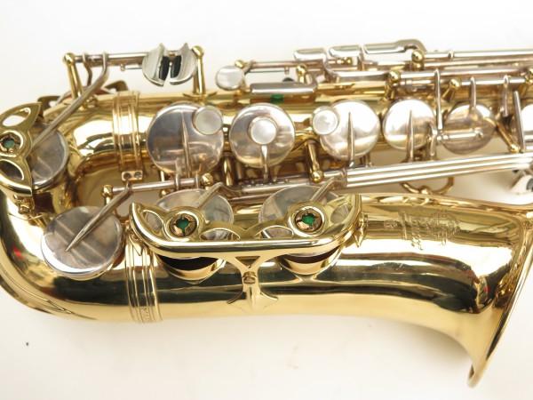 Saxophone alto Selmer Mark 6 verni clés argentées (11)
